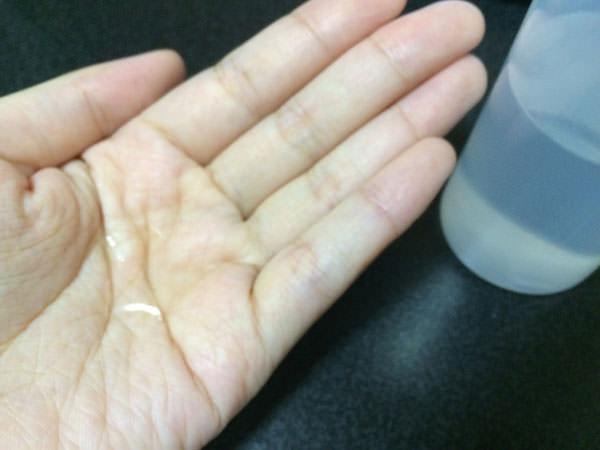 手作り化粧水の使用感