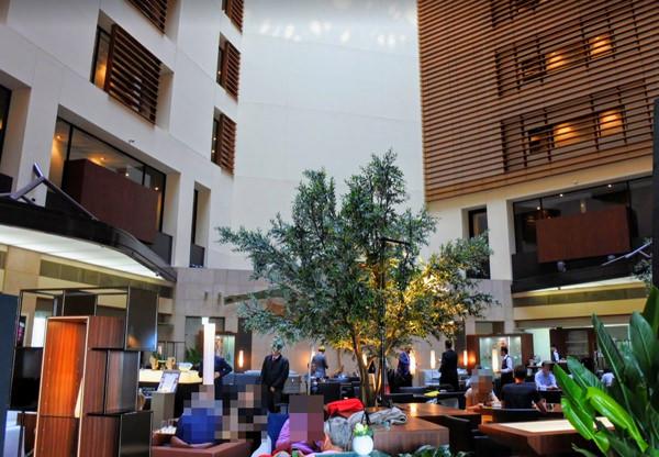 パークホテル東京「アートラウンジ」