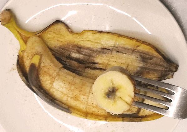 ホットバナナ・シナモンシュガー