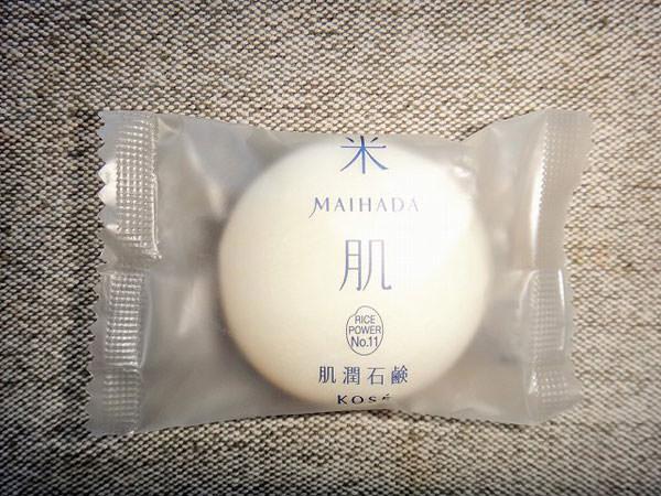 洗顔料米肌「肌潤石鹸」