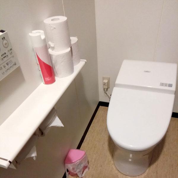 ラットタット錦糸町店のトイレ