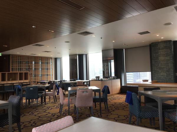 新宿プリンスホテル 和風ダイニング&バー FUGAの店内の雰囲気