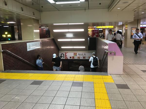 サブナード西武新宿駅からのアクセス