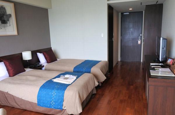 ホテル浜比嘉島リゾートの客室