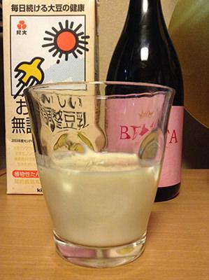 ベルタ酵素ドリンク+無調整豆乳