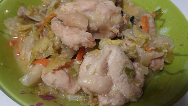 たっぷり野菜と鶏肉のねりごま甘酒煮込み