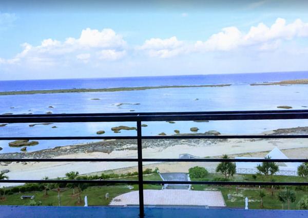 サイプレスリゾート久米島 部屋からの眺め