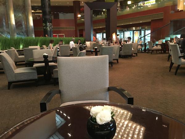 ANAインターコンチネンタルホテル東京「アトリウムラウンジ」内観