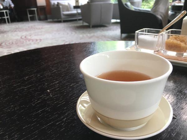 セルリアンタワー東急ホテル ラウンジ「坐忘」キーナム紅茶