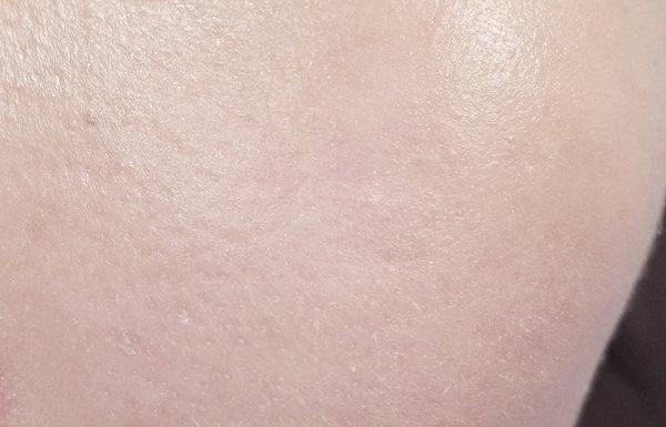 無印良品 UVベースコントロールカラー使用後の肌