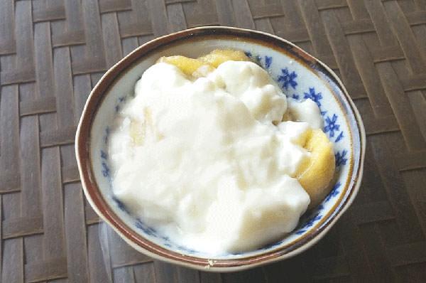 ホットバナナヨーグルト