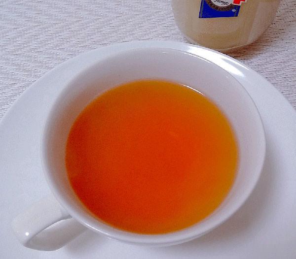 リンゴ酢+紅茶