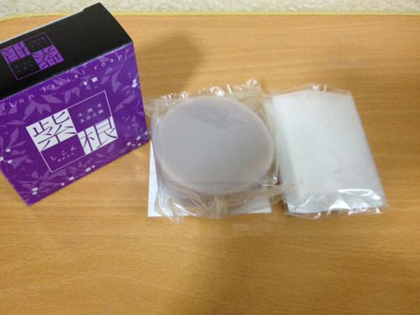 進製作所 紫根石鹸