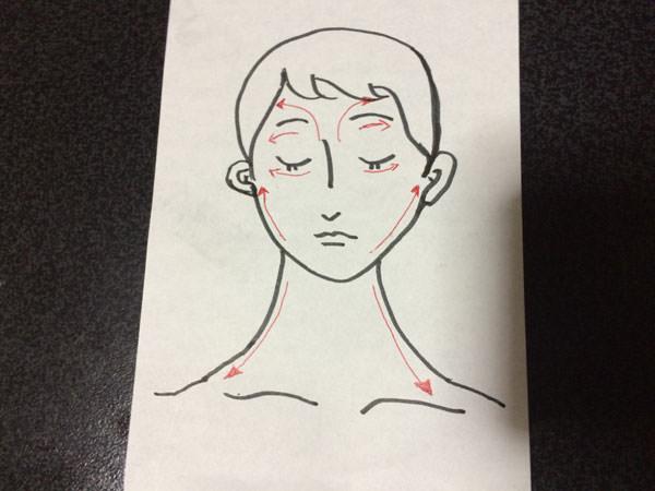 アプリコットオイルで顔・首・デコルテのマッサージ方法