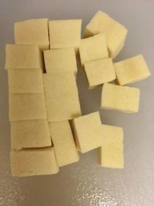 「高野豆腐のクルトン」作り方