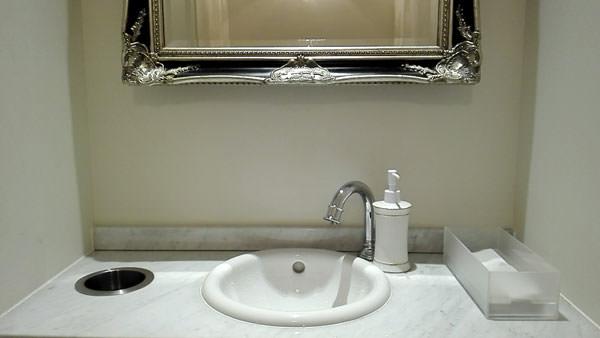 ミスパリのトイレ