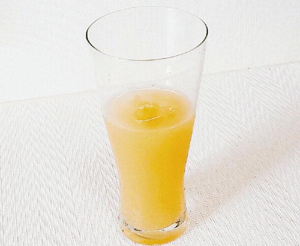 リンゴ酢+オレンジジュース