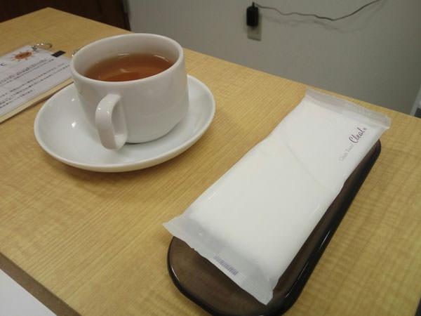 脱毛ラボ市川店で飲んだマテ茶
