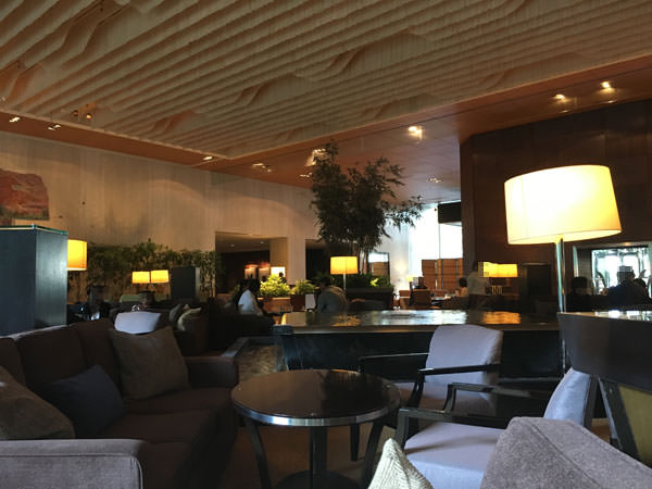 シェラトン都ホテル東京「ラウンジバンブー」