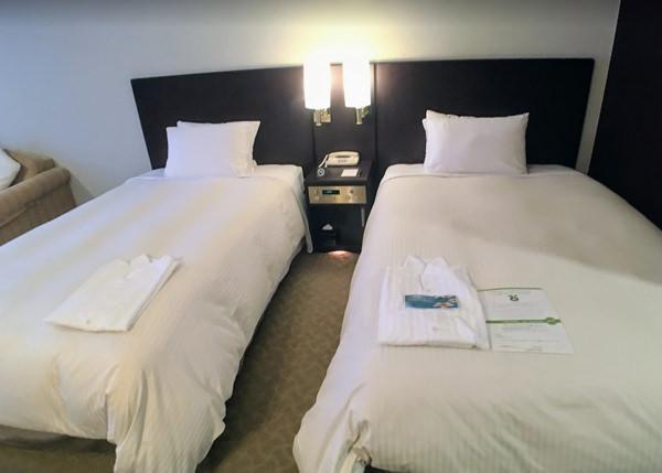 サイプレスリゾート久米島 ベッド