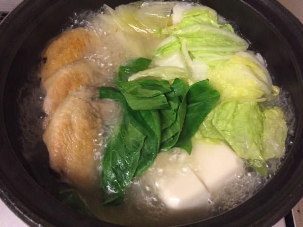 乾燥生姜入り手羽先鍋