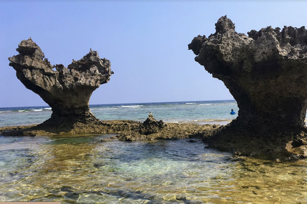 ハートロックは2つの岩