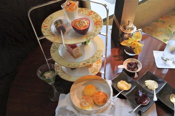 シャングリ・ラ ホテル 東京「ザ・ロビーラウンジ」アフタヌーンティーレビュー
