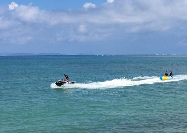 美らSUNビーチ バナナボート