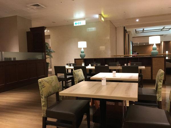 品川プリンスホテル コーヒーラウンジ マウナケアの店内