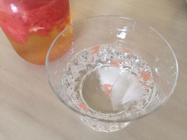 フルーツビネガーを「炭酸で割る」