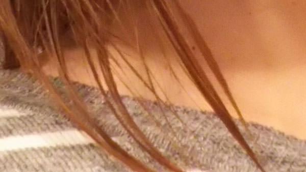 リピジュア化粧水をつけた後の髪の毛