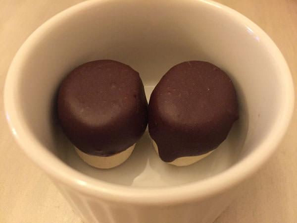 マシュマロローチョコレート