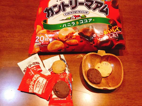 【カントリーマアム】の再現レシピ