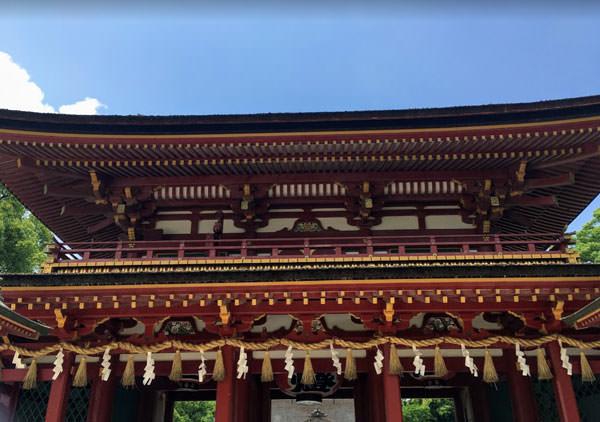 大宰府天満宮の楼門