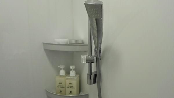 ミスパリのシャワールーム