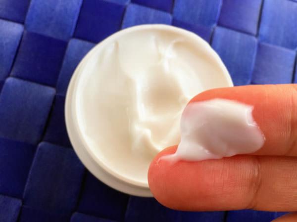 無印良品「美白クリーム」の肌なじみ