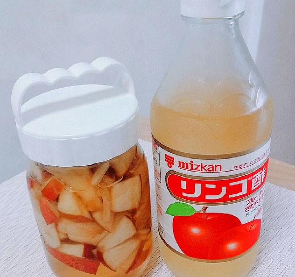 リンゴ酢【効果・作り方・飲み方】ドリンクにして飲んでみた結果