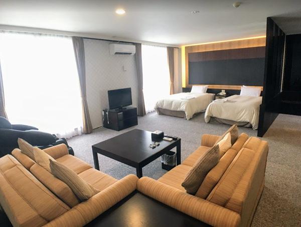 サイプレスリゾート久米島「スイートルーム」