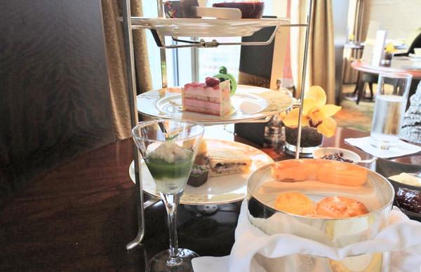シャングリ・ラ ホテル 東京「ザ・ロビーラウンジ」アフタヌーンティー実食