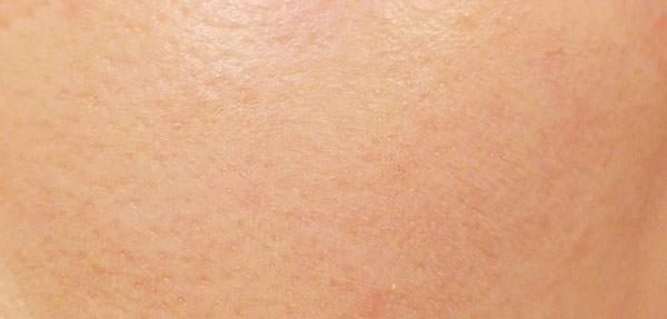 ディセンシア アヤナスAS BBクリーム使用後の肌