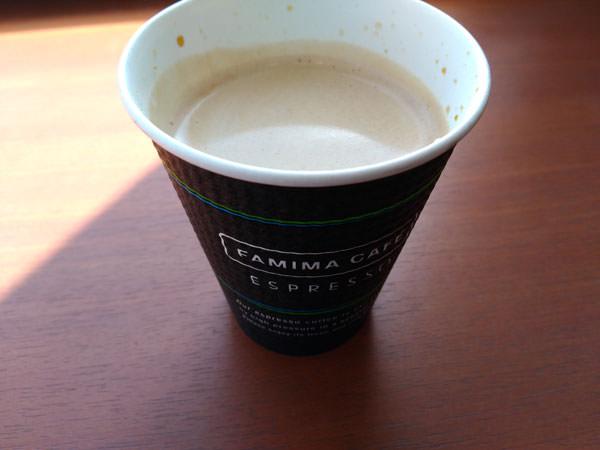 ファミリーマートのコーヒー評価