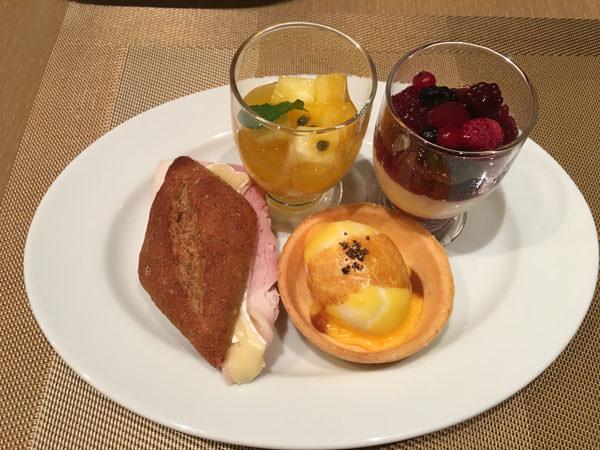 コンラッド東京「セリーズ」アフタヌーンティー 2皿目