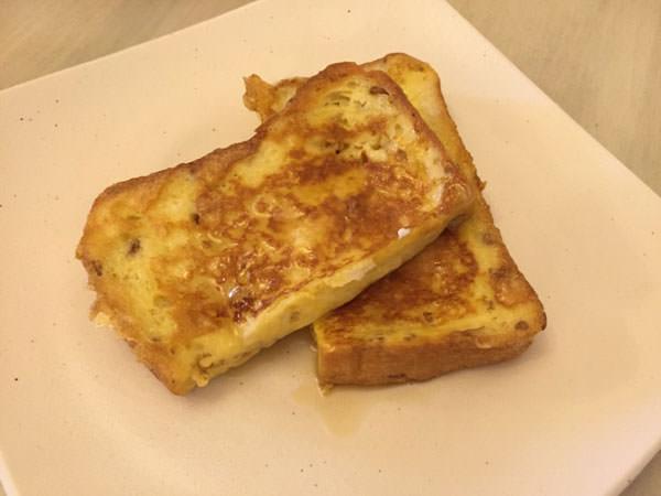 ライスミルクのフレンチトースト