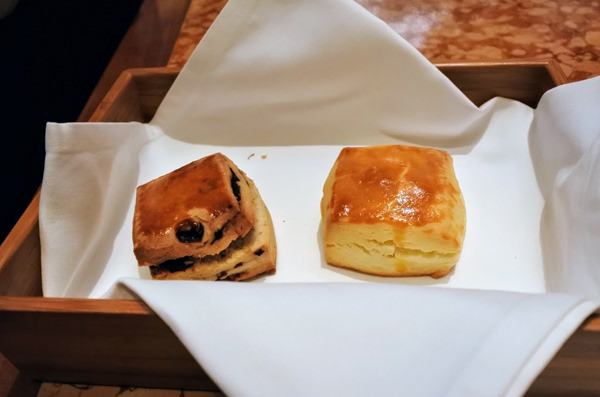 ザ・ペニンシュラ東京 「ザ・ロビー」アフタヌーンティー 自家製スコーン