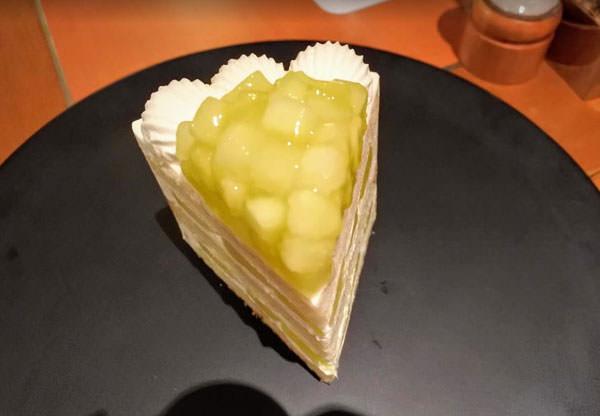 ホテルニューオータニ「SATSUKI」エクストラスーパーメロンショートケーキ