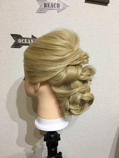 美女と野獣「ベル」の髪型の作り方