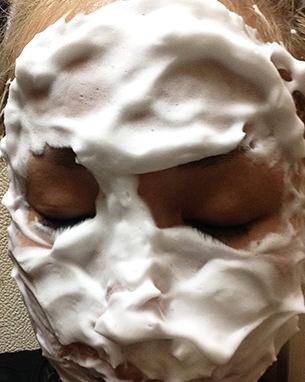 ルアンルアン生せっけんで洗顔してみました