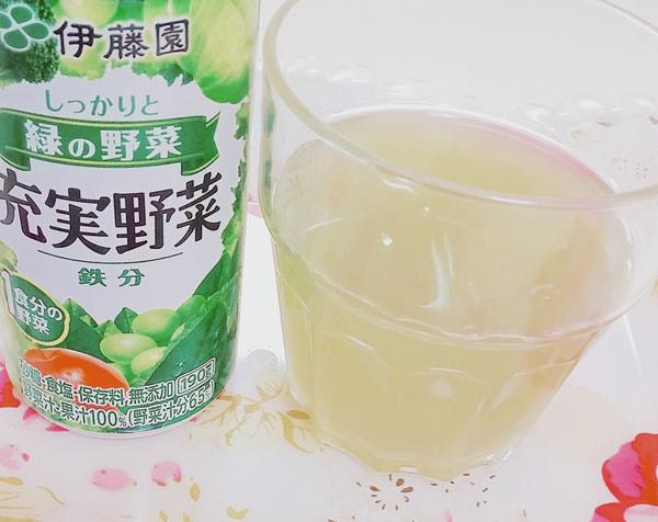 野菜ジュース+ココナッツウォーター
