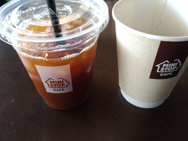 ミニストップのコーヒーの評価