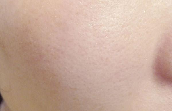 アクアレーベル ホワイトアップ ローション(美白化粧水)を使用後の肌